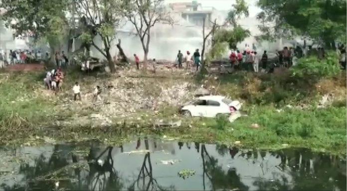 Punjab firecracker factory blast, 10 killed, Batala, Gurdaspur