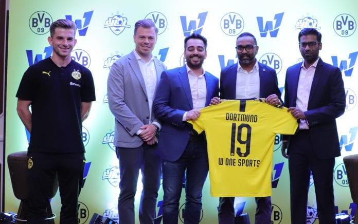 Borussia Dortmund, World1 Sports, Football Development, Velammal Schools, I-League, ISL
