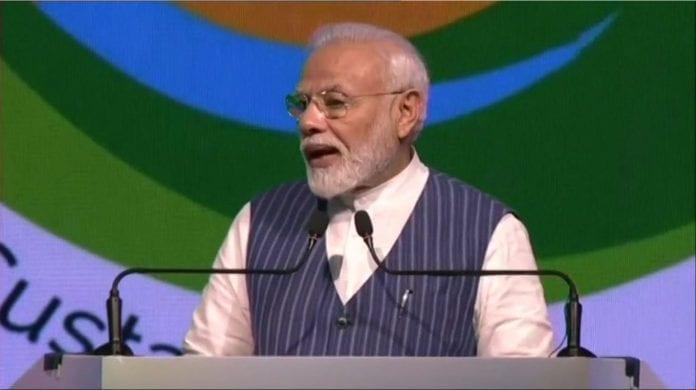 Prime Minister Narendra Modi, United Nations, single-use plastic, desertification