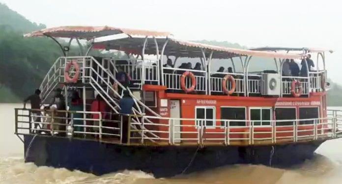 tourist boat, boat capsize, Godavari tragedy, Godavari river