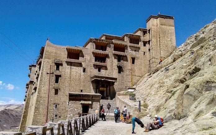 Leh Palace, Ladakh, restoration work, ASI