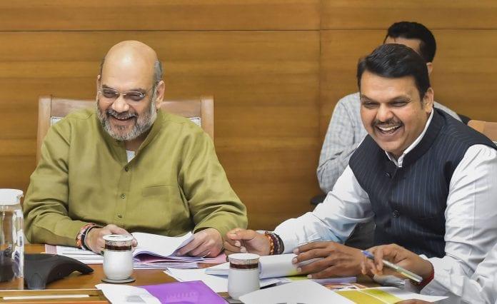 BJP Shiv Sena seats, seat-sharing, Maharashtra elections, Shiv Sena, BJP, Amit Shah, CM Devendra Fadnavis, JP Nadda