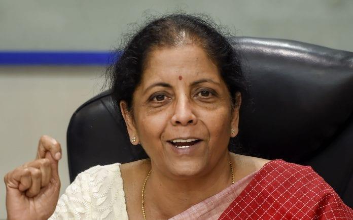 Nirmala Sitharaman, economic slowdown
