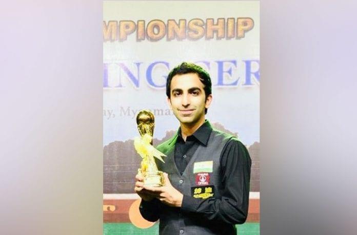 Pankaj Advani, Billiards, IBSF World Billiards Championship, Nay Thway Oo, Prime Minister Narendra Modi, World champion, World tally 22,