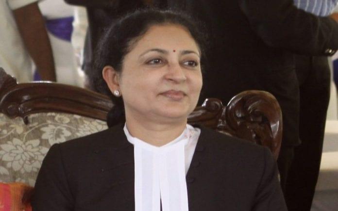 Madras high Court, Chief Justice Tahilramani, Tahilramani, Transfer to northeast