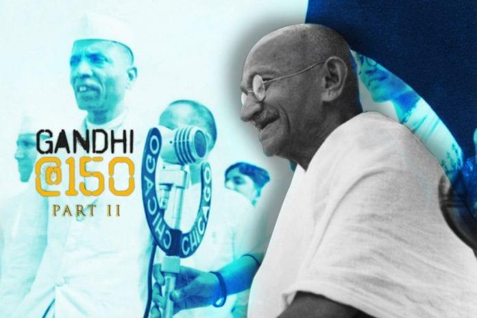 150th birth anniversary, Mahatma Gandhi, Mohandas Karamchand Gandhi, Gandhi Jayanti, caste system views, intermarriage views, racism, atheism, atheist, BR Ambedkar, Goparaju Ramachandra Rao, Gora