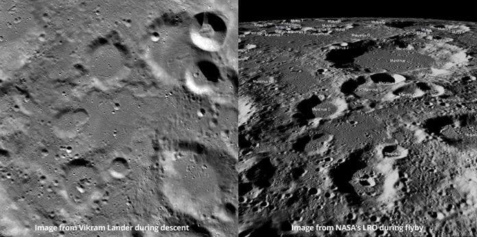 NASA, Chandrayaan 2, south pole, moon mission, soft landing, Vikram lander, ISRO