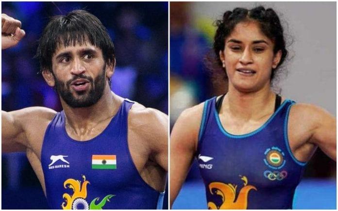 Bajrang Punia, Vinesh Phogat, World Championships, wrestling, Sushil Kumar, Divya Kakran, Tokyo Olympics 2020 qualifiers
