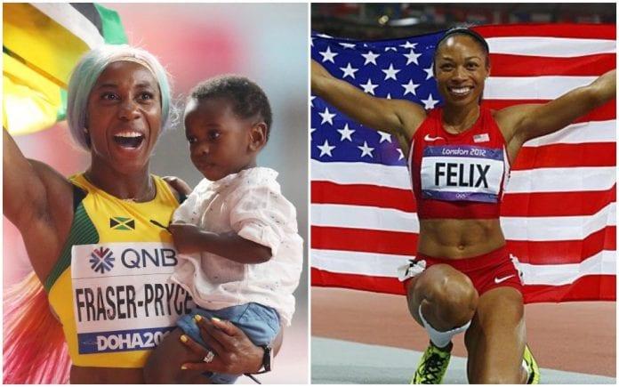 World championships, athletics, Shelly-Ann Fraser-Pryce, Allyson Felix, Khalifa Stadium, 100m gold, Usain Bolt's record