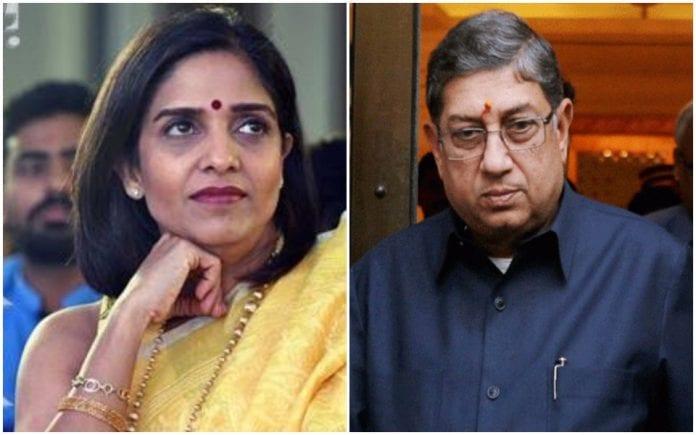 N Srinivasan, Former BCCI chief, Rupa Gurunath, TNCA President, first female president, Gurunath Meiyappan, Chennai Super Kings, spot-fixing scandal