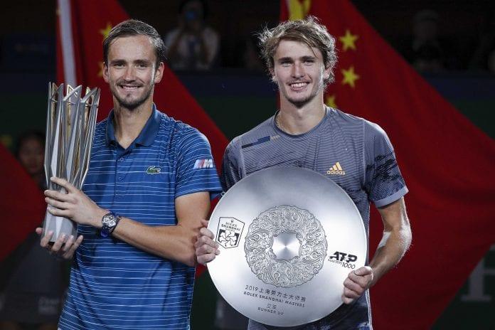 Shanghai Masters, Daniil Medvedev, Alexander Zverev, Stefanos Tsitsipas, Matteo Berrettini, Roger Federer, Novak Djokovic, Rafael Nadal