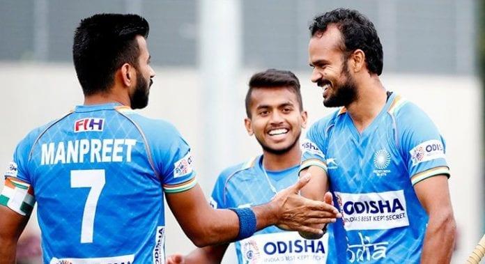 India, Belgium, men's hockey, Tour of Belgium, fifth consecutive win