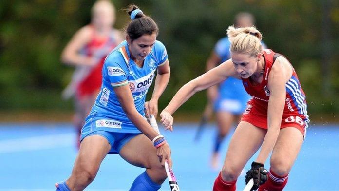 India, Great Britain, Goalless draw, women's hockey