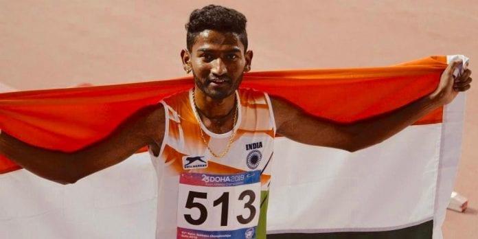 2020 Tokyo Olympics, national record, World Athletics Championships, men's 3000m steeplechase, Avinash Sable