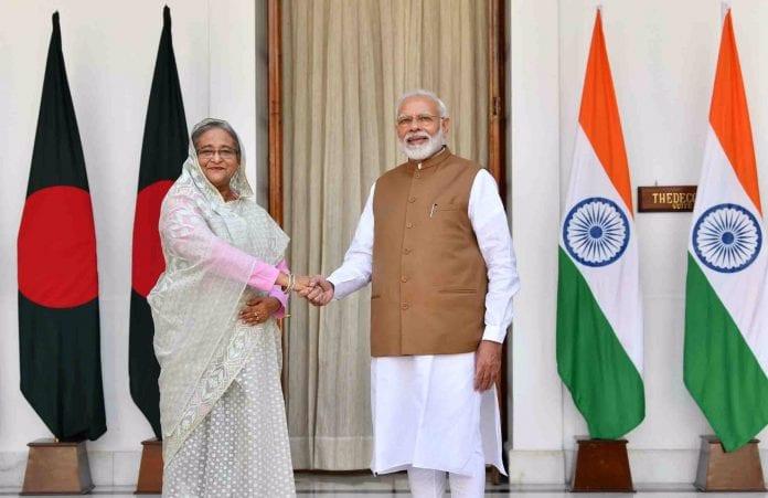 PM Modi, Sheikh Hasina, talks, enhancing ties, India, Bangladesh, defence, security, trade, connectivity