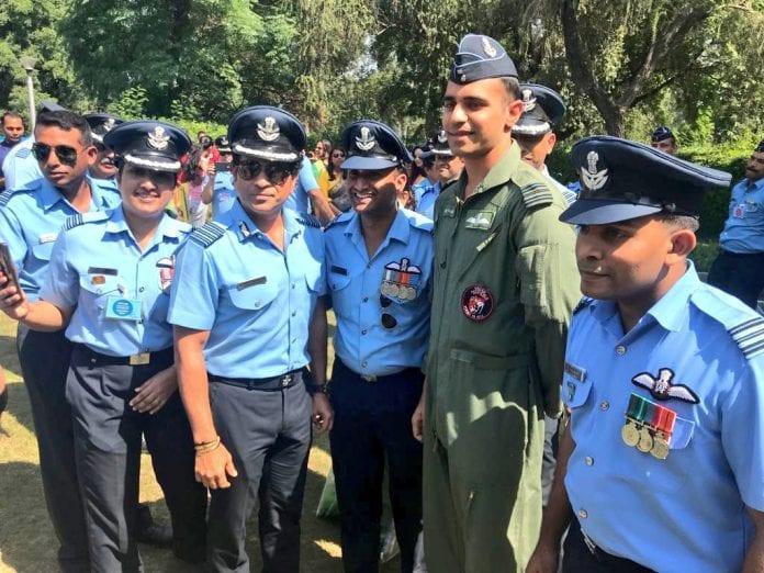 Sachin Tendulkar, Group Captain, 87th IAF Parade, cricket legend, Wing Commander Abhinandan Varthaman, Anjali Tendulkar