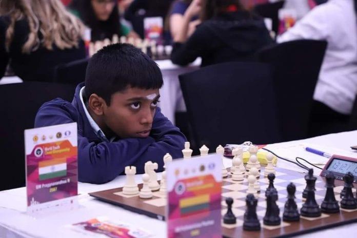 World Youth Chess Championship, R Praggnanandhaa, World Junior Championship, Grandmaster, seven medals
