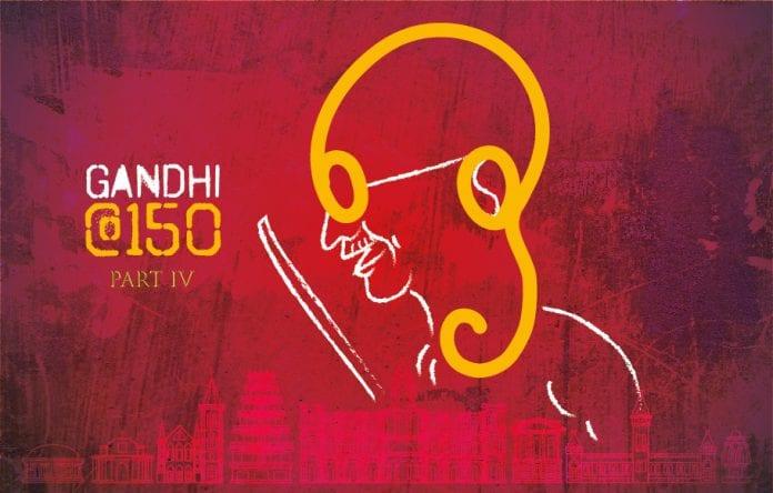 Mahatma Gandhi, Mohandas Karamchand Gandhi, advocate, Tamils, Tamil language, Madras Presidency, Gandhipattinam, assassination, Gandhi Memorial Museum, Madurai, Gandhigram, Dindugul, Tiruchengode