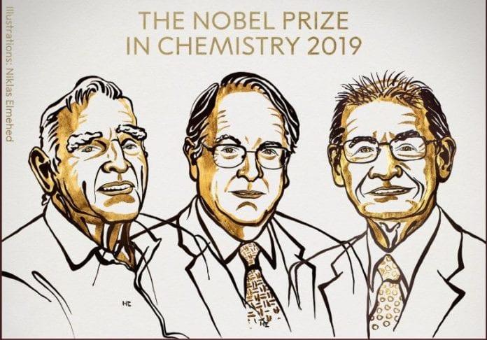3 scientists, Nobel Prize, Chemistry, lithium-ion batteries, Akira Yoshino, Stanley Whittingham, John B Goodenough, Nobel Prize for Physics, Cosmology