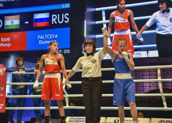 Manju Rani, Silver medal, World Women's Boxing Championships, MC Mary Kom, Lovlina Borgohain, Jamuna Boro, bronze medals
