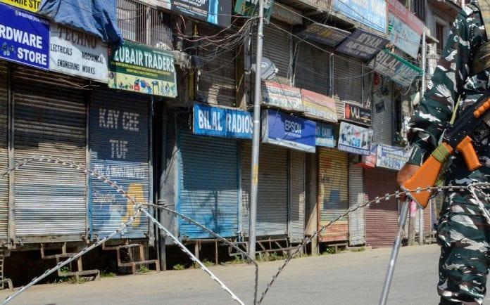 Kashmir issue, Kashmir shutdown, Article 370