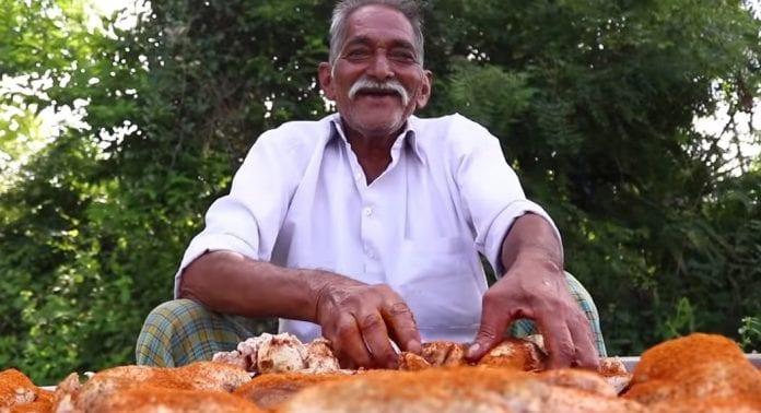 Narayana Reddy, Grandpa's Kitchen, YouTube