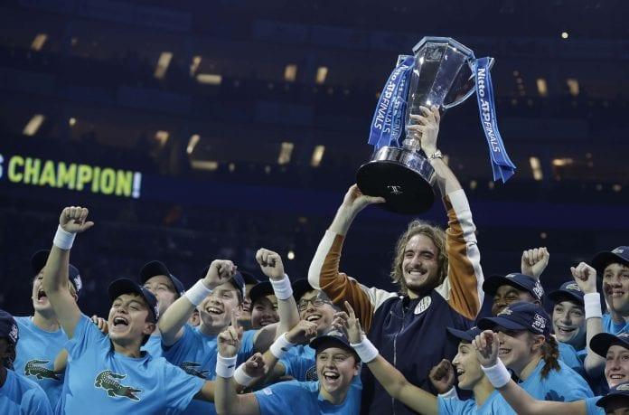 ATP Finals title, Stefanos Tsitsipas, Dominic Thiem, Next Gen ATP Finals, Novak Djokovic, Roger Federer, Rafael Nadal