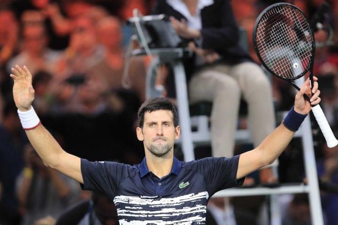 Paris Masters, Novak Djokovic, Rafael Nadal, Stefanos Tsitsipas, Gregor Dimitrov, Chilean Cristian Garin