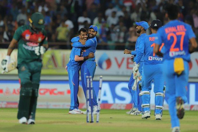 Bangladesh tour of India, third T20I, Rohit Sharma, Yuzvendra Chahal, Vrat Kohli, Kuldeep Yadav, Tamim Iqbal, Mushfiqur Rahhim, Shivam Dube