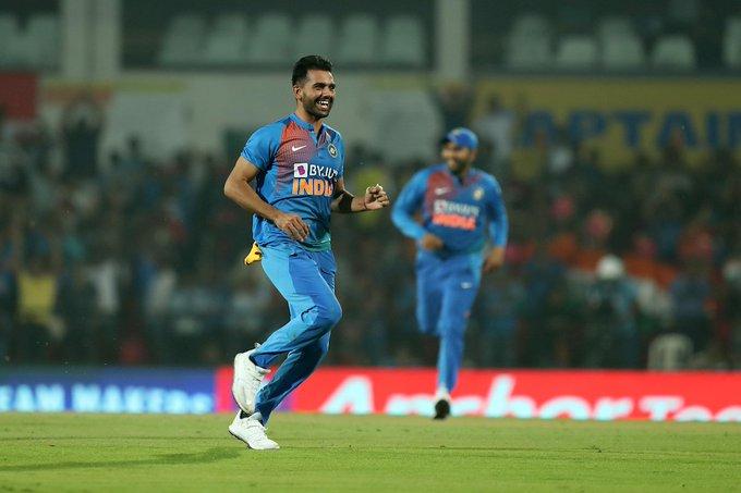 Deepak Chahar, Chennai Super Kings, Bangladesh tour of India, third T20I, hat-trick