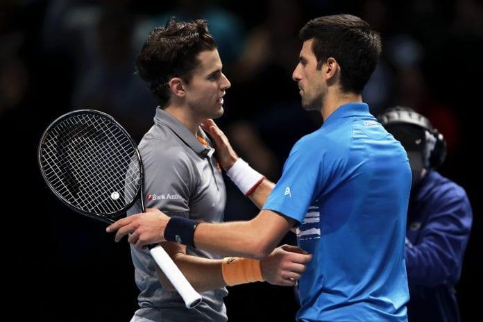 ATP Finals, Roger Federer, Daniil Medvedev, Dominic Thiem, Novak Djokovic, Matteo Berrettini