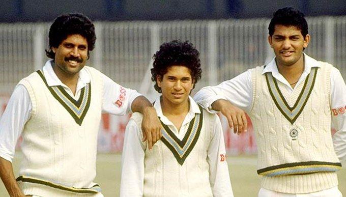 Sachin Tendulkar, Test debut, India tour of Pakistan, Indian cricket team, Imran Khan, Wasim Akram, Waqar Younis