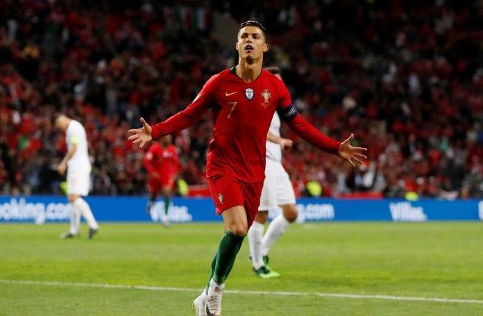 Cristiano Ronaldo, hat-trick, Juventus, Maurizio Sarri, Euro 2020, Lithuania, Portugal, AC Milan
