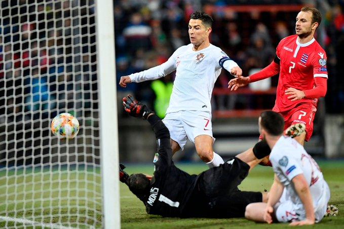 Euro 2020, Cristiano Ronaldo, Ali Daei, Portugal, Luxembourg, France, Bruno Fernandes, Bernando Silva