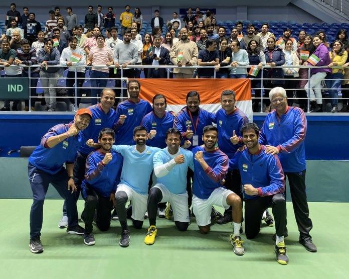 Leander Paes, Davis Cup, India, Pakistan, Tennis, Mohammed Shoaib, Hufaiza Abdul Rehman, neutral venue, Nur-Sultan, Jeevan