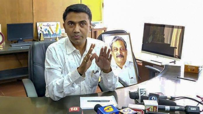 Pramod Swant, Ayodhya verdict, Goa CM
