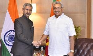 S Jaishankar, external affairs minister, Sri Lankan President, Gotabaya Rajapaksa, Prime Minister Narendra Modi, President Ram Nath Kovind, welcoming ceremony, Rashtrapati Bhavan