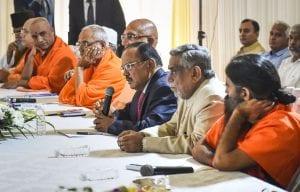 Baba Ramdev, Ajit Doval, Ayodhya verdict