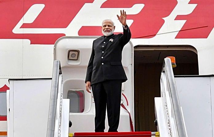Narendra Modi, Air India, foreign trip