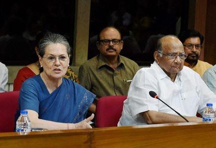 Sonia, Sharad, Maharashtra polls