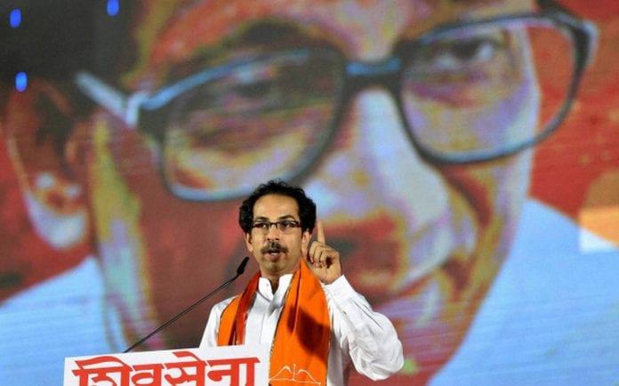 Uddhav Thackeray, Shiv Sena