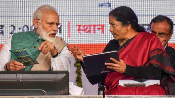 Nirmala Sitharaman, Narendra Modi