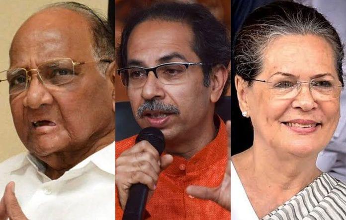 Sharad Pawar, Sonia Gandhi, Uddhav Thackeray, NCP, Shiv Sena, Congress