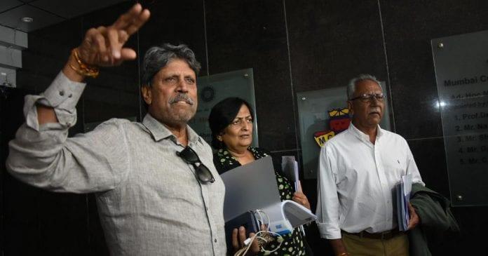 conflict of interest, BCCI, Kapil Dev, Cricket Advisory Committee, Shantha Rangaswamy, Anshuman Gaekwad, DK Jain, Madhya Pradesh Cricket Association, Sanjeev Gupta