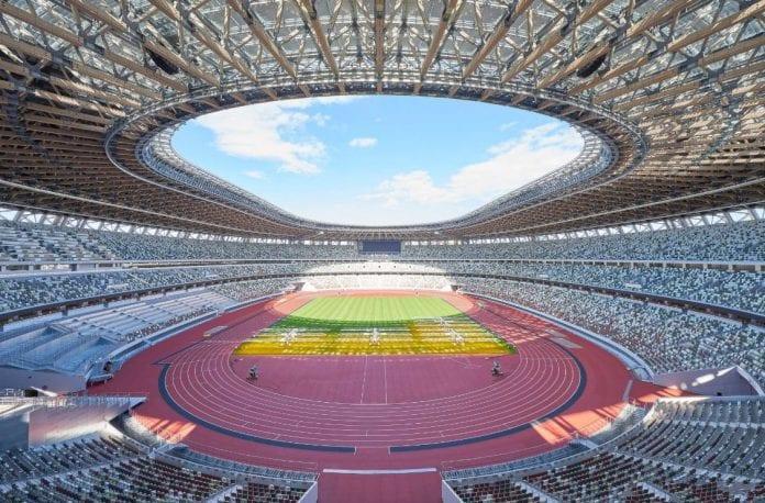 2020 Tokyo Olympics, Olympic Stadium, heat busting, Shinzo Abe