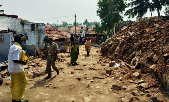 Coimbatore wall collapse, Mettupalayam, caste wall
