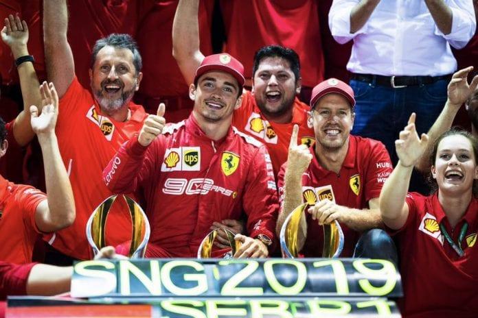 Charles Leclerc, Sebastian Vettel, World Championships, Italian Grand Prix, Ferrari