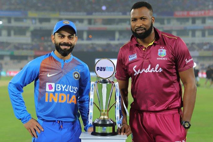 India vs West Indies, West Indies tour of India, Mohammad Shami, Kuldeep Yadav, Virat Kohli, toss, third T20I, Wankhede Stadium