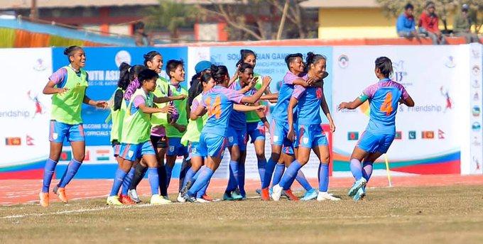 Indian women's football team, South Asian Games, Nepal, India, Bala Devi, Aditi Chauhan