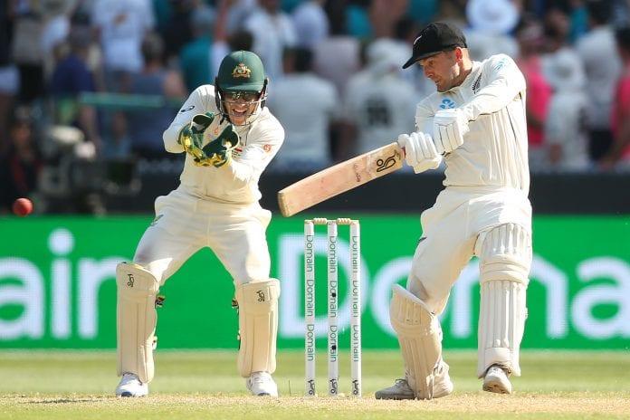 Australia, New Zealand, second Test, Nathon Lyon, Tom Blundell, Kane Williamson, New Zealand tour of Australia, Marnus Labuschagne, Black Caps
